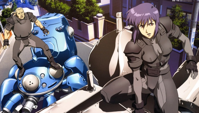 Ghost in the Shell protagonist Motoko
