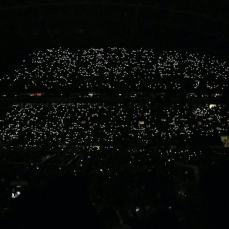 Beyoncé lights up Century Link during a 1+1