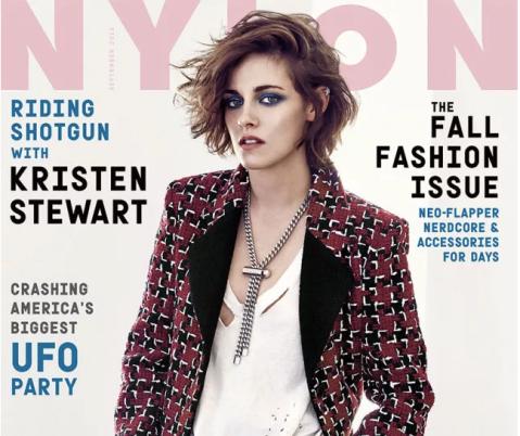 Kristen Stewart Nylon cover