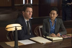 Dominic West as Noah and Nadia Gan as Madeline Lim in The Affair (season 2, episode 4). - Photo: Mark Schafer/SHOWTIME - Photo ID: TheAffair_204_9626