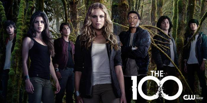 The 100 season 2 cast (all kids)